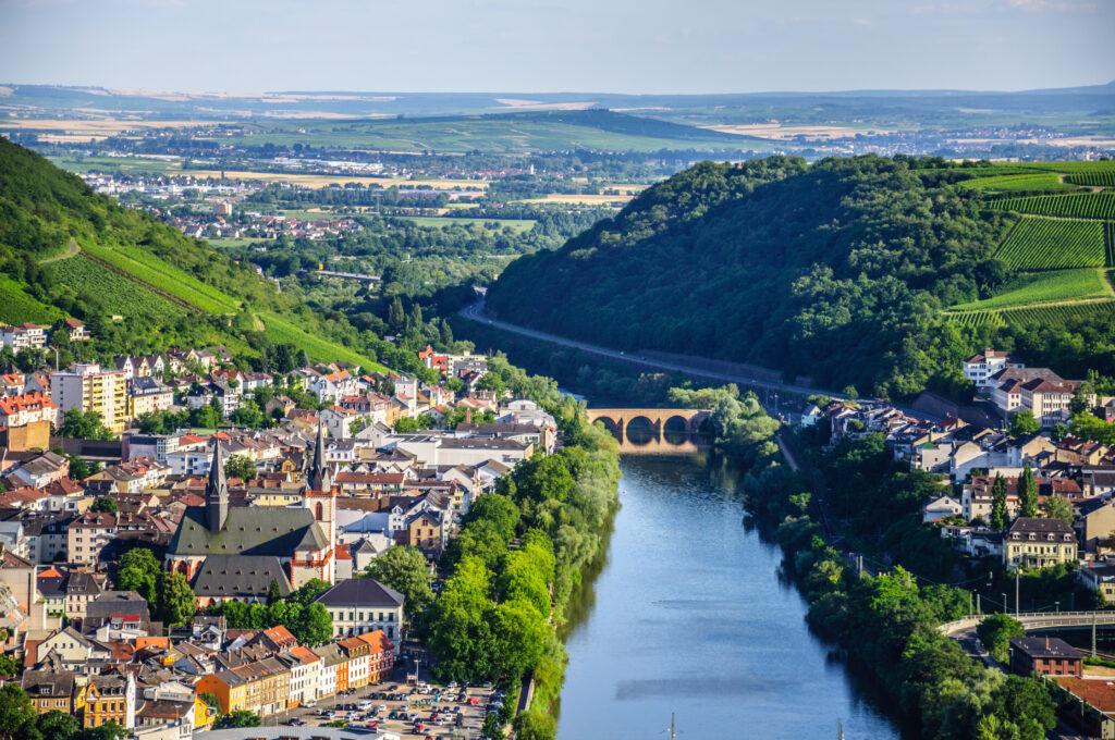 Германия – долината на река Рейн и Баварските замъци със самолет